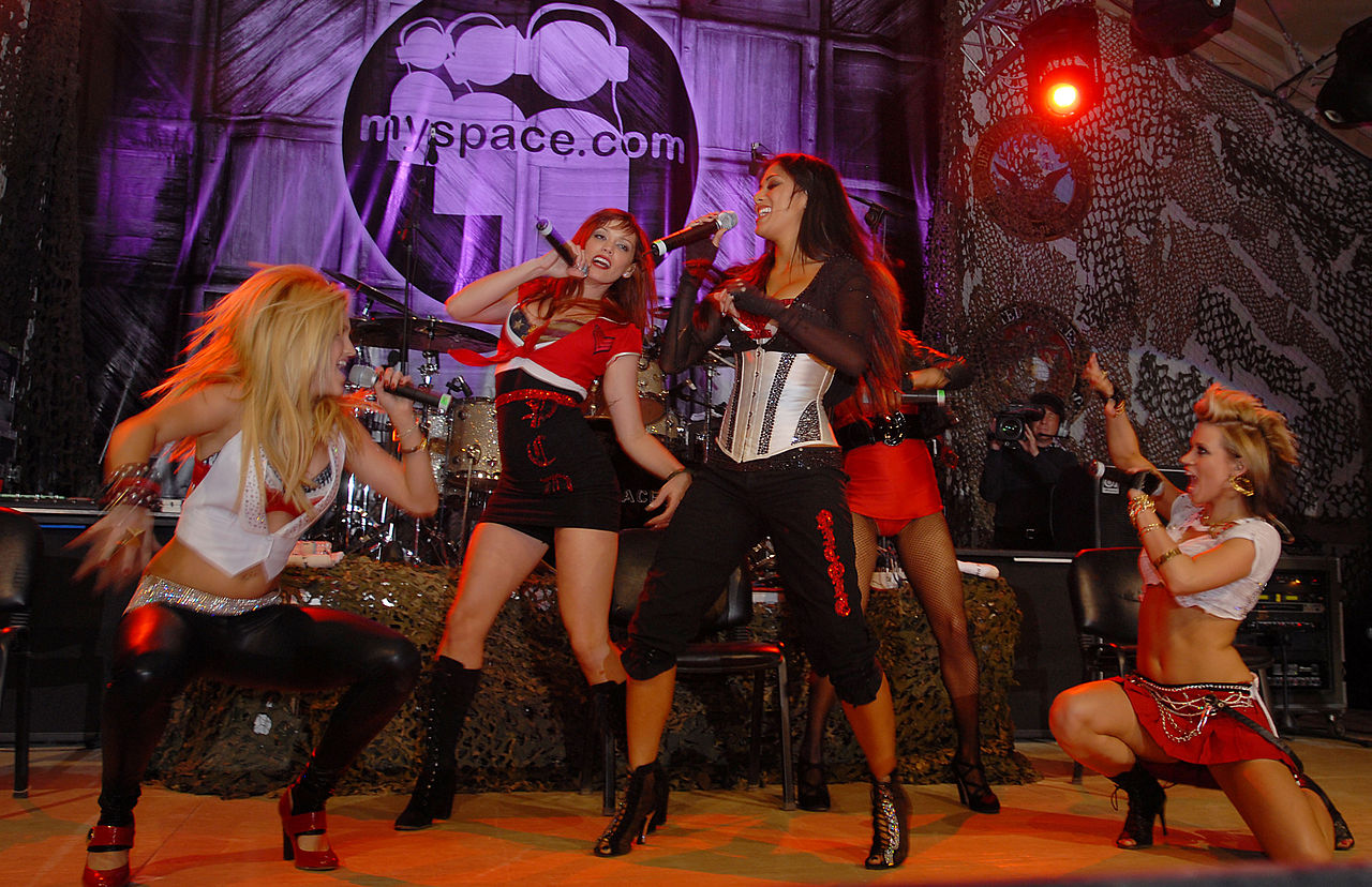 Dansgrupp som blev en popgrupp