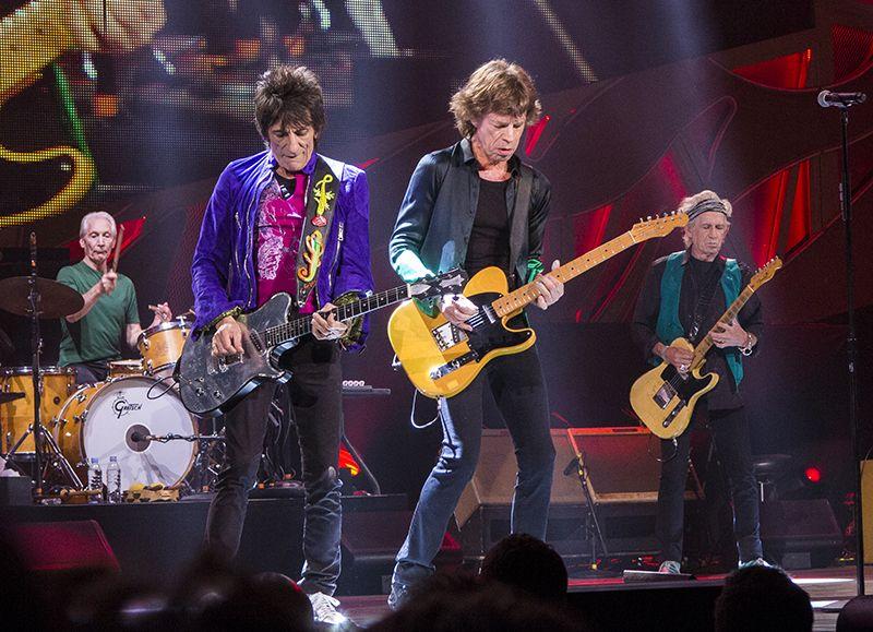 The Rolling Stones, ett rockband som producerat musik i många år
